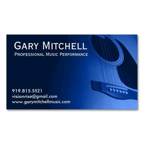 1000 images about music business card templates on