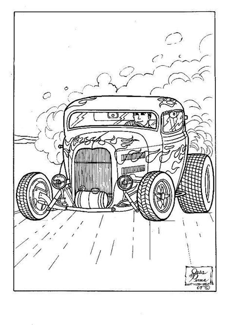 printable coloring pages hot rods free coloring pages of hot rod trucks