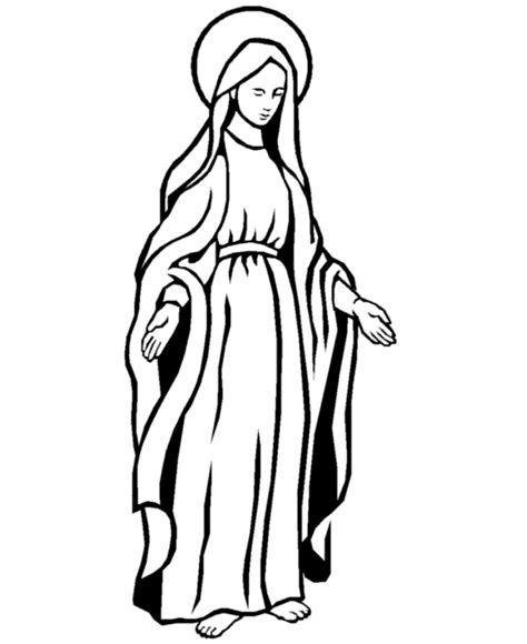 mother mary coloring pages az coloring pages