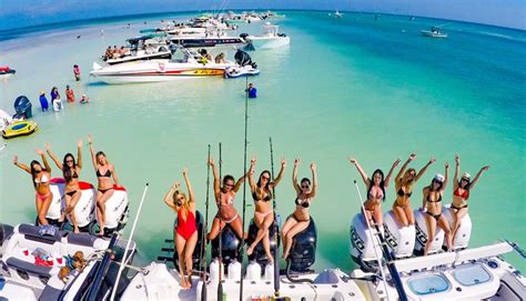 party boat fishing key biscayne the party experience rent a boat with a captain