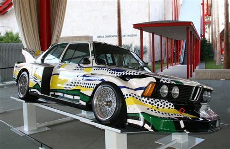 lichtenstein bmw bmw 320i by roy lichtenstein wonderfull car and