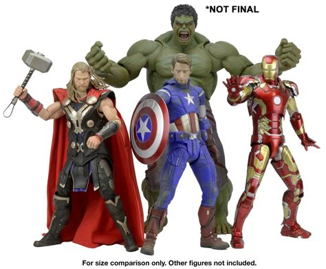 Avenger Headknocker Neca age of ultron 1 4 scale preview by neca