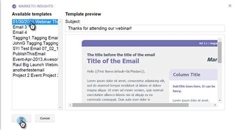 Using Marketo Insights For Google Chrome Marketo Docs Product Documentation Marketo Email Templates 2
