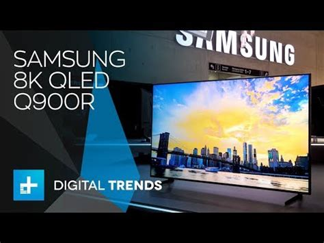 samsung 8k qled tv q900r on at ifa 2018