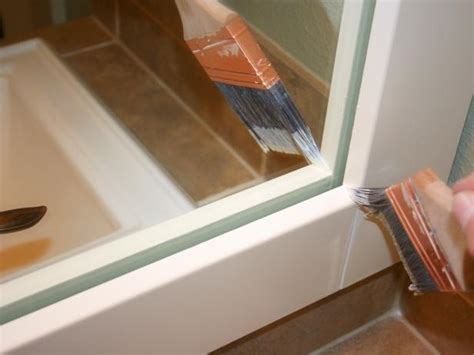 How To Frame A Mirror Hgtv How To Frame Your Bathroom Mirror