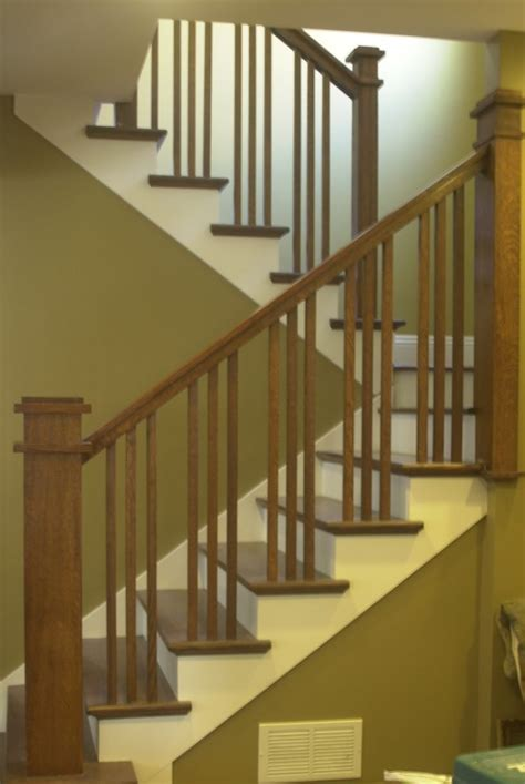 image result  transitional style staircases craftsman