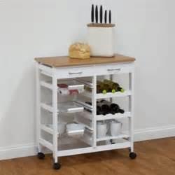 kitchen trolley bench buy zeller 2 drawer kitchen trolley bench white graysonline australia