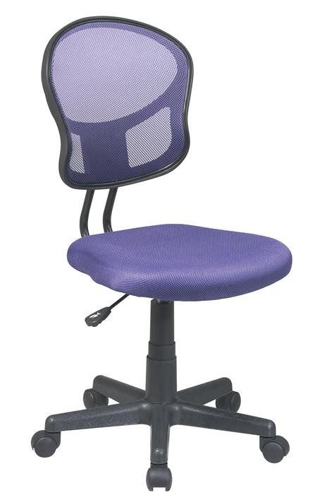 Task Chair em39800 512 office bright purple mesh task chair