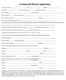 17 printable rental application templates free