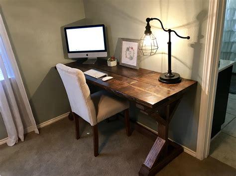 Diy Executive Desk White Farmhouse Desk Diy Projects