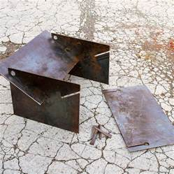 tecton steel collapsible pit by magma firepits - Metal Pit