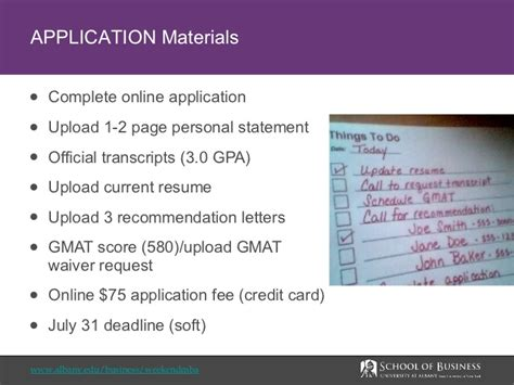 2 1 Gpa Mba by At Albany Weekend Mba Program Overview