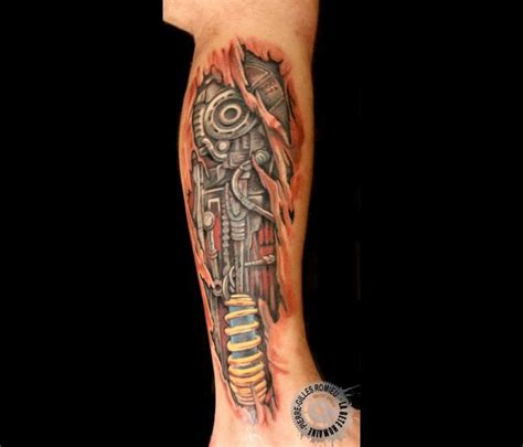 tatouage biom 233 canique graphicaderme