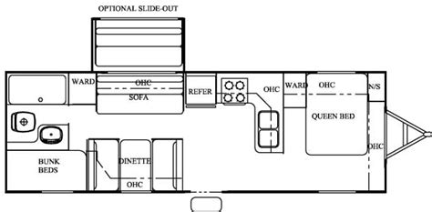 2006 salem travel trailer floor plans 2006 forest river salem west travel trailer rvweb com