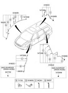 Kia Sedona Parts List 2007 Kia Sedona Sunroof