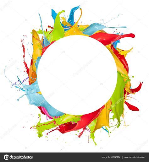 imagenes sin fondo blanco paint salpicaduras de color abstracto sobre fondo blanco fotos