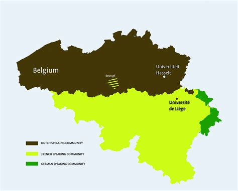 netherlands ethnic map prince filip project phd cooperation between ulg and uhasselt