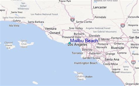 california map malibu malibu map gallery
