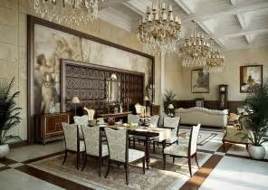 Home Decor Dining Room by Traditional Cream Gold Dining Room Interior Design Ideas