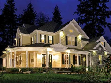 country house plan with 4725 square feet and 4 bedrooms