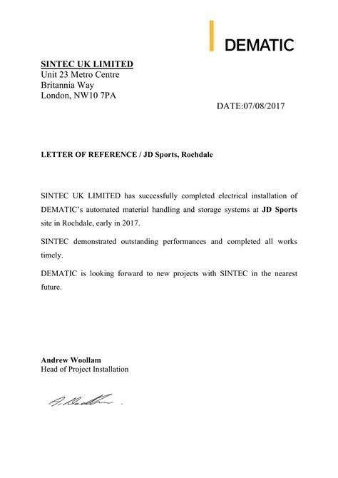 References | Sintec UK Limited