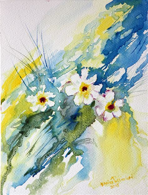 fiori acquerelli acquerelli enrica pellicciari l immagine si scioglie
