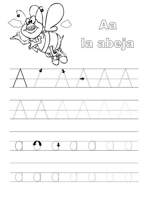 de la letra a actividades para imprimir escuela infantil castillo de blanca abecedario con animales