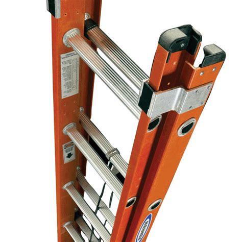 werner d6220 1 20 ft werner 20 ft type ia fiberglass d rung extension ladder