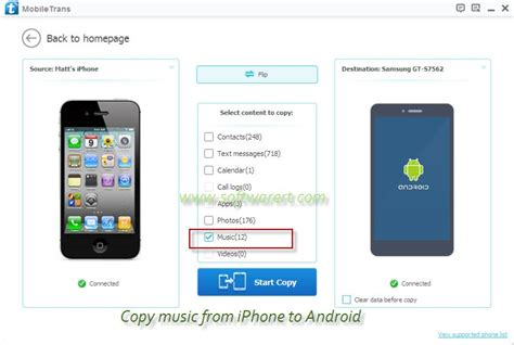 how to transfer from iphone to android