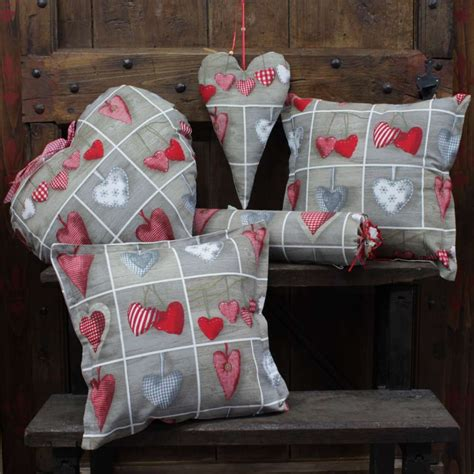 cuscini d cuscino d arredo cuori a caramella
