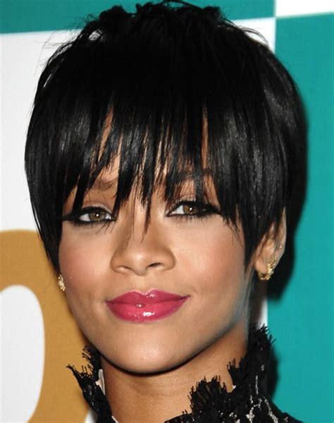 black hairstyles rihanna rihanna black pixie haircuts popular haircuts