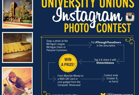 Giveaway Photo - instagram photo contest university unions