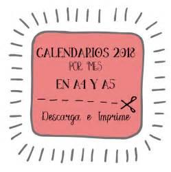 Calendario Mensual 2018 Pdf Calendarios 2018 Imprimibles Meses Descargar