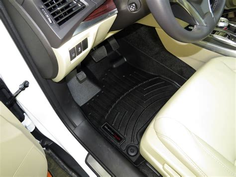 2016 acura mdx weathertech front auto floor mats black