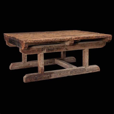 Primitive Tables by Primitive Work Table At 1stdibs