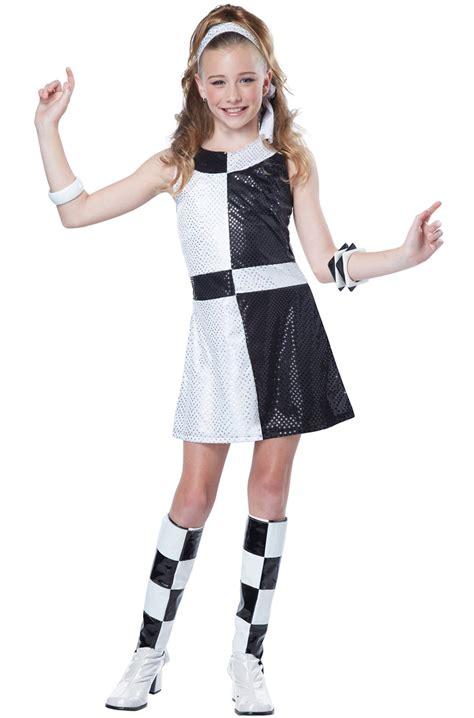 tween costumes purecostumescom disco groovy 60 s mod chic dress child girls tween costume