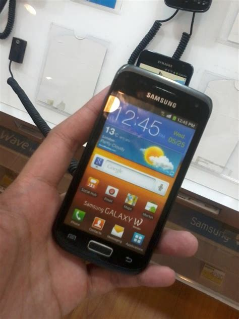 samsung galaxy w i8150 price specifications and release date