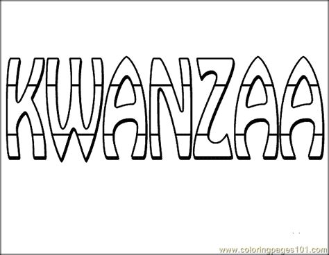 coloring pages kwanzaa coloring page 02 entertainment