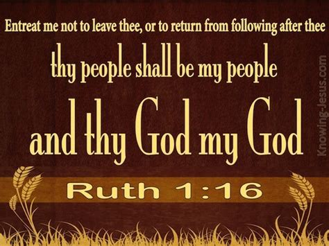 Me Or Not 1 ruth 1 16 verse of the day