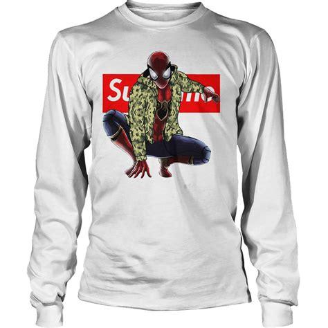 Supreme Longsleeve spider supreme hoodie sweater longsleeve t shirt