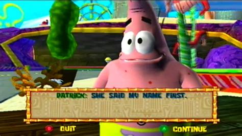 film gane video the spongebob squarepants movie game cube part 14 youtube