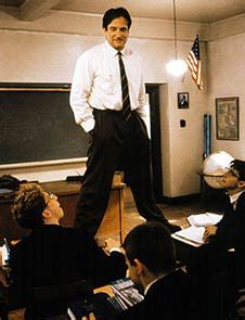 Saluting Robin Williams Rediff Com Movies Dead Poets Society Standing On Desks