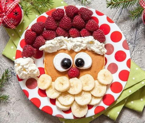 christmas inspired breakfast the 25 best santa pancakes ideas on food dinner family traditions