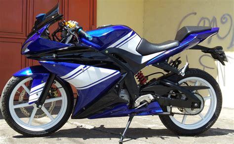 Kaos Motor Yamaha Yzf R15 Murah suzuki thunder 125 pake baju yzf biar keliatan m balap