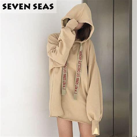 V Hoody Spandek Korea Style aliexpress buy korean style preppy casual tops pullover hoodies