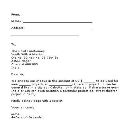 letter template for a in donation receipt best photos of a donation letter exle sle