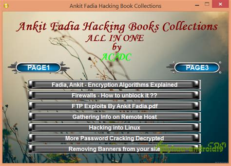 ebook tutorial deface hacking ebook collection by ankit fadia kuyhaa me