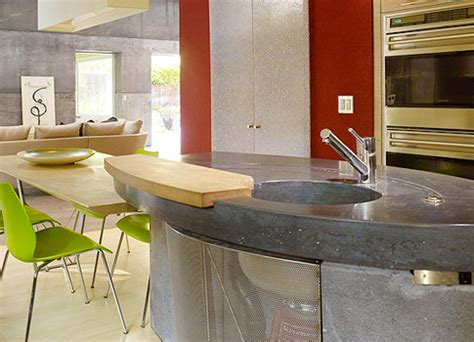 Cheng Design Concrete Countertops by Kitchen Concrete Countertop Gallery House6 485x350 Cheng Concrete Exchange