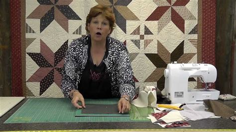 youtube tutorial quilting the big star quilt quilting made easy youtube
