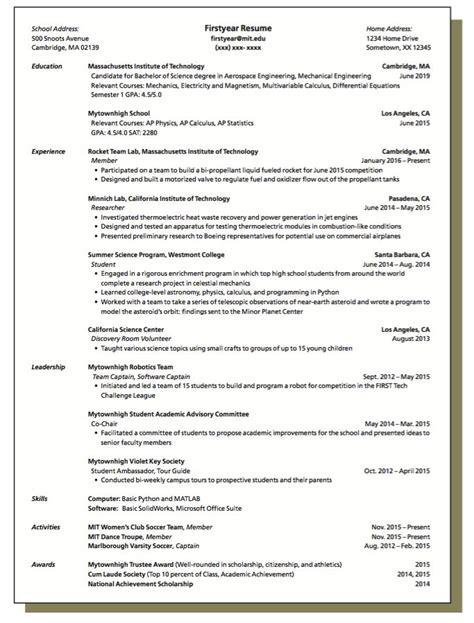 secondary resume exles 1000 ideas about sle resume on free resume